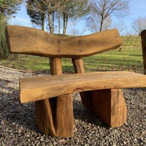1m oak bench