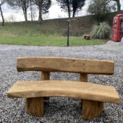 Solid oak bench for sale