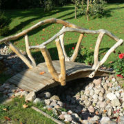 Rustic company bridge