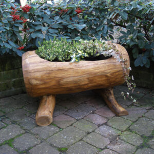 Rustic company wooden pot 4