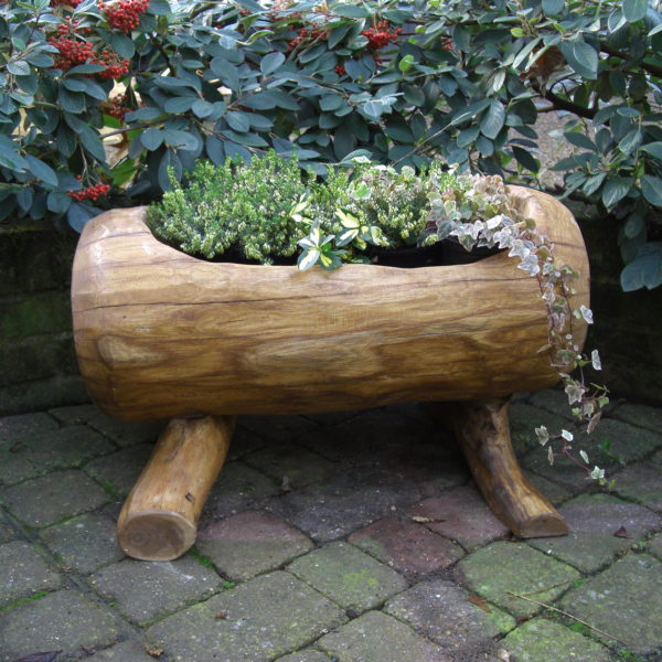 Rustic company wooden pot 3