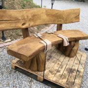 oak garden benches delivered