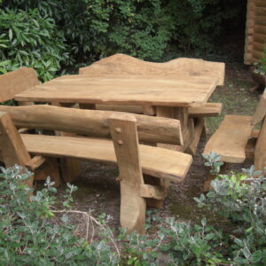 Rystic company log table 4 piece set