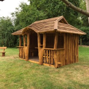 Oak summerhouse, garden building