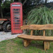 1.5m garden bench