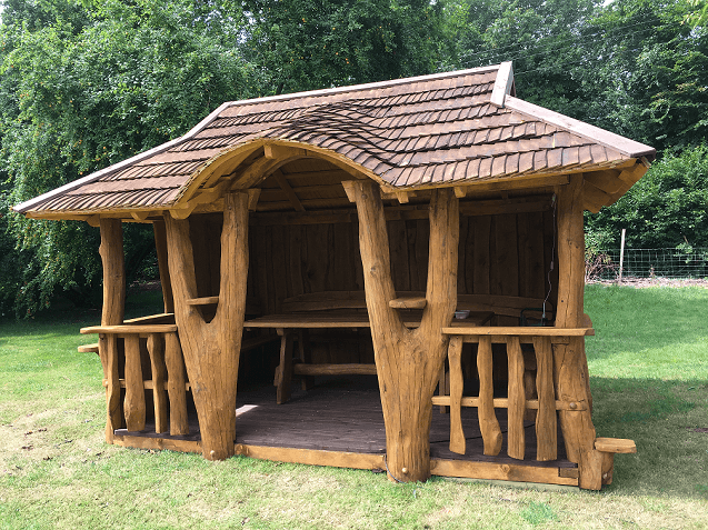 Rustic company Dorchester 303 summer house front