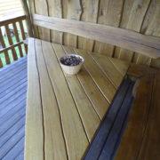 Log cabin summerhouse