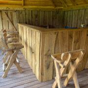 bespoke garden bar pub
