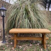 picnic oak bench for sale