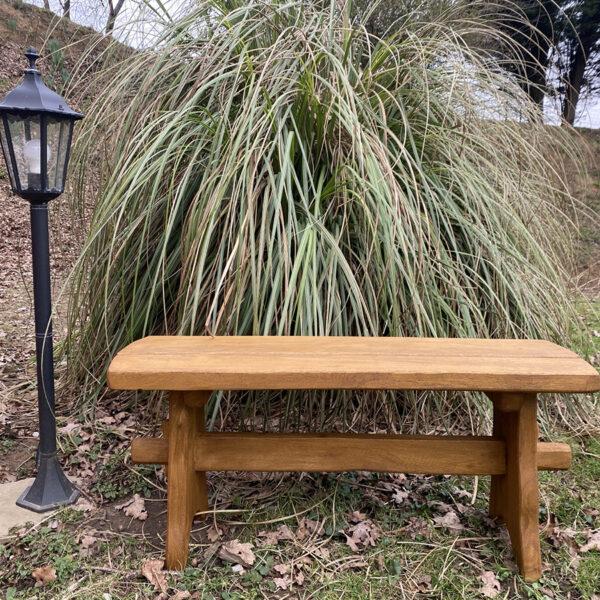 oak solid picnic bench