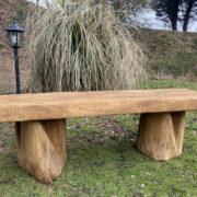 1.5m cottage oak bench