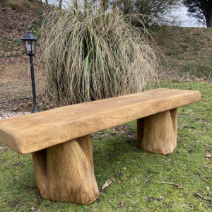 1.5m COTTAGE solid oak bench